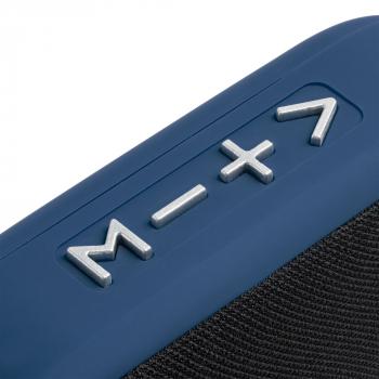Беспроводная колонка Borsetta, синяя, кнопки