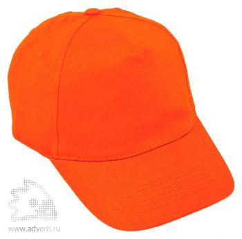 Бейсболка «Five», оранжевая