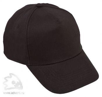 Бейсболка «Five», черная