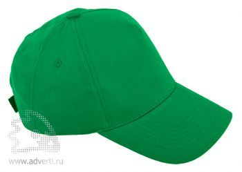 Бейсболка «Five», зеленая