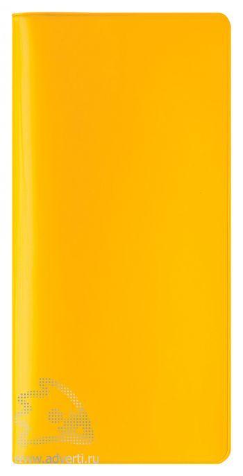 Бумажник путешественника «Happy Travel», желтый