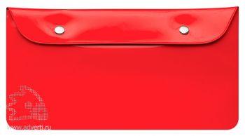 Бумажник дорожный «Happy Travel», красный
