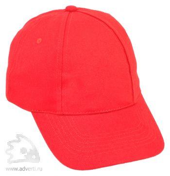 Бейсболка «Six», красная