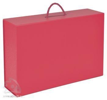 Подарочная коробка, красная