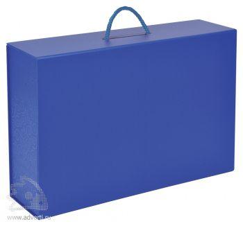 Подарочная коробка, синяя