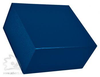 Коробка подарочная складная, синяя