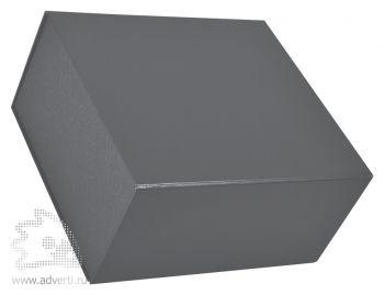 Коробка подарочная складная, серебристая