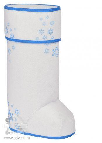 Упаковка подарочная «Валенок», синяя