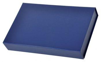 Коробка подарочная складная со съемным разделителем, закрытая
