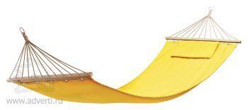 Гамак с подушкой «Майами» в сумке, желтый
