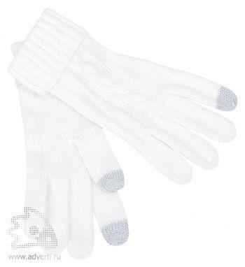 Перчатки сенсорные «Irish», белые