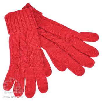 Перчатки сенсорные «Irish», красные