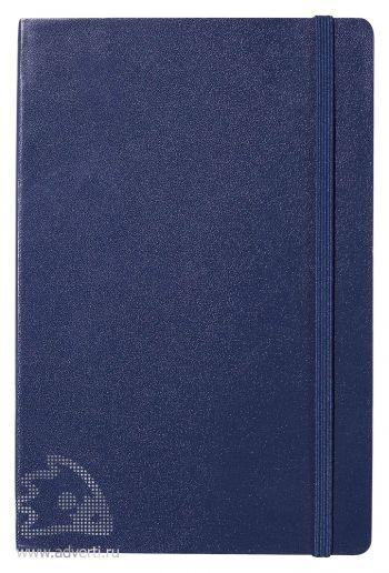 Записная книжка А5 «Journalbooks-1», темно-синяя