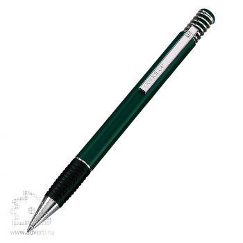 Шариковая ручка «Soft-Spring», темно-зеленая