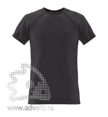 Футболка под сублимацию «Stan Print», мужская, черная