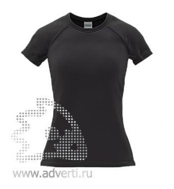 Футболка под сублимацию «Stan Print W», женская, черная