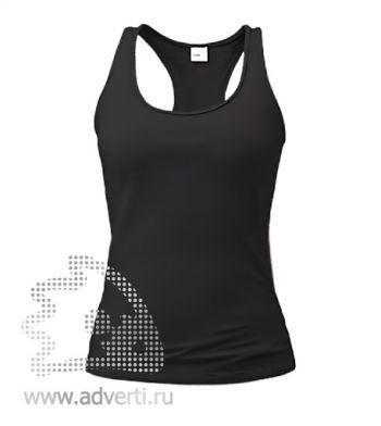 Майка «Stan Fitness W», женская, черная