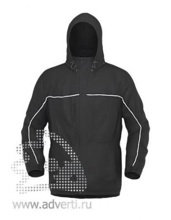 Куртка «Stan Nordic», унисекс, черная