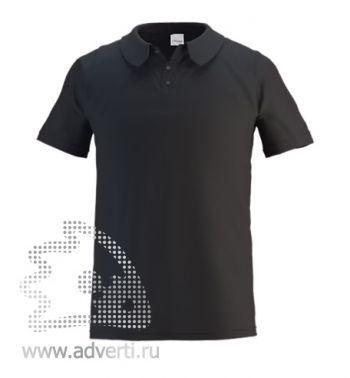 Рубашка поло «Stan Primier», мужская, черная