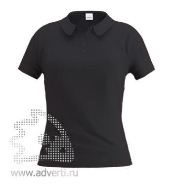 Рубашка поло «Stan Women», женская, черная
