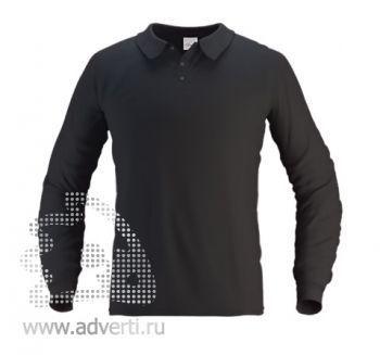 Рубашка поло «Stan Polo», мужская, черная