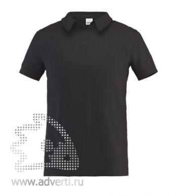 Рубашка поло «Stan Premium», мужская, черная