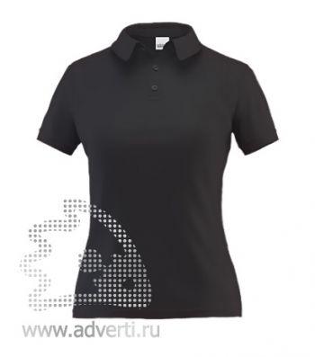 Рубашка поло «Stan Premium W», женская, черная
