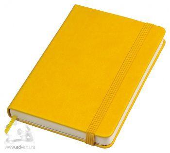 Бизнес-блокнот «Casual» А6-, желтый