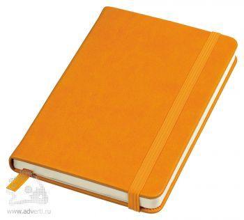 Блокнот А6+ «Casual», оранжевый