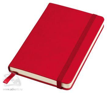 Бизнес-блокнот «Casual» А6-, красный