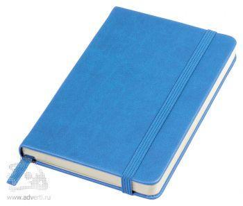 Бизнес-блокнот «Casual» А6-, голубой