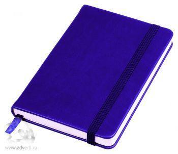 Бизнес-блокнот «Casual» А6-, синий