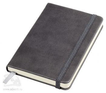 Бизнес-блокнот А6 «Casual», серый