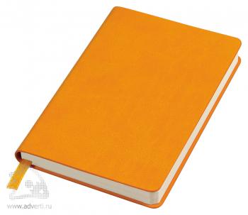 Бизнес-блокнот «Urban» A6-, оранжевый