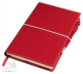 Бизнес-блокнот «Business», красный