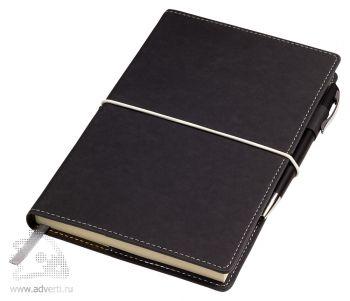 Бизнес-блокнот А5 «BUSINESS», серый