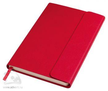 Бизнес-блокнот «Creative», красный