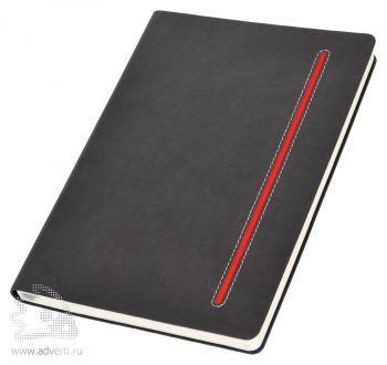 Бизнес-блокнот А5 «Elegance», красный