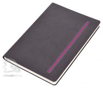 Бизнес-блокнот А5 «Elegance», розовый