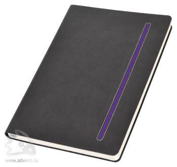 Бизнес-блокнот А5 «Elegance», фиолетовый