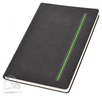 Бизнес-блокнот А5 «Elegance», зеленый