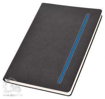 Бизнес-блокнот А5 «Elegance», синий