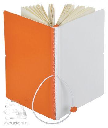 Бизнес-блокнот А5 «Franky», оранжевый
