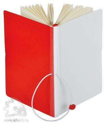 Бизнес-блокнот А5 «Franky», красный