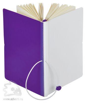 Бизнес-блокнот А5 «Franky», фиолетовый