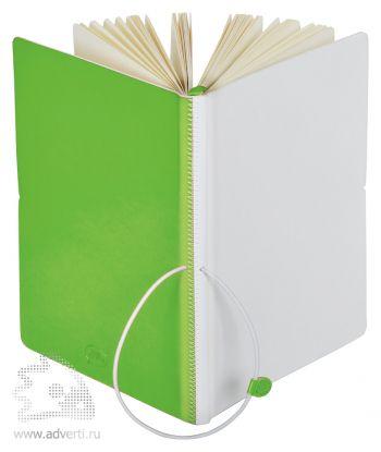 Бизнес-блокнот А5 «Franky», зеленый