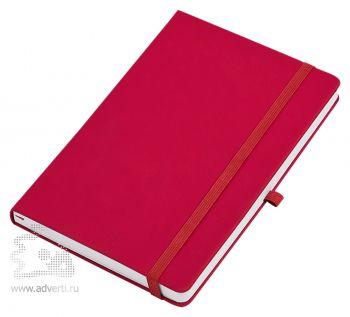 Бизнес-блокнот «Silky» А5, красный