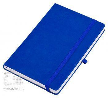 Бизнес-блокнот «Silky» А5, синий