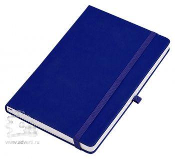 Бизнес-блокнот «Silky» А5, темно-синий