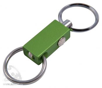 Брелок «Гламур-2», зеленый